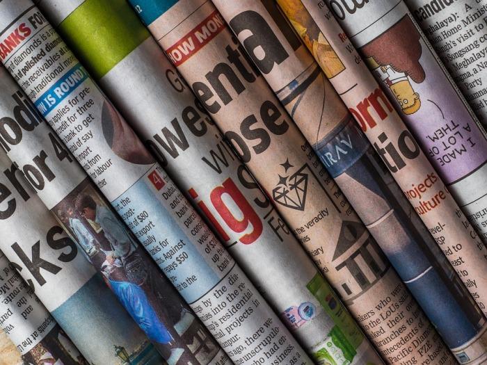 海外の新聞