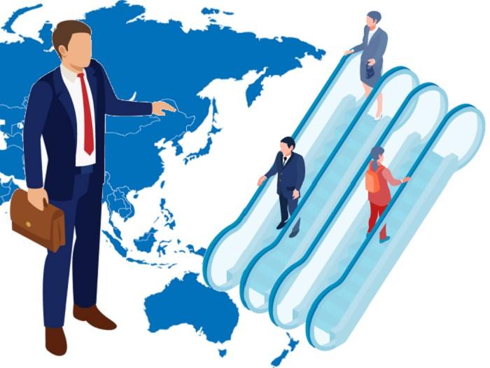 日本のビジネスマンは上り調子か