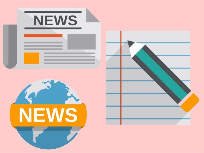 ニュースと筆記用具