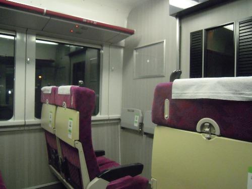 グリーン車の平屋席