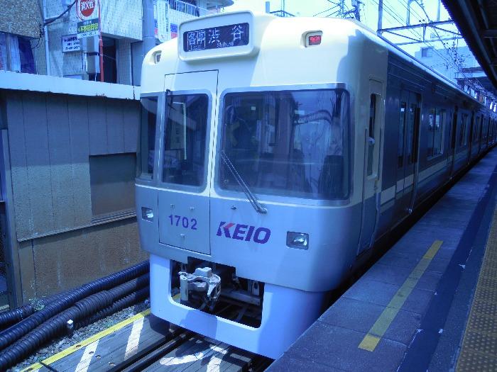 下北沢駅の井の頭線