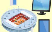 テニス放映
