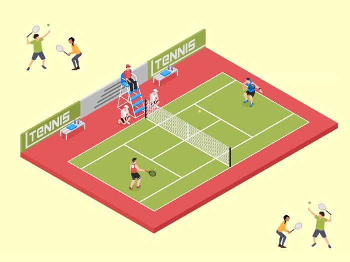 テニスの観戦