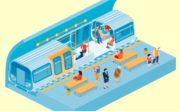 海外の地下鉄と英語