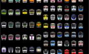 首都圏のおもな電車