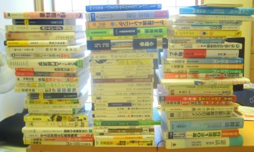 ブックオフに売るか図書館に寄贈する本
